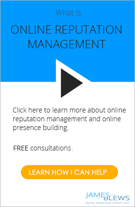 Online reputation management CTA