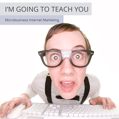 I'm going to show you how to perform microbusiness internet marketing