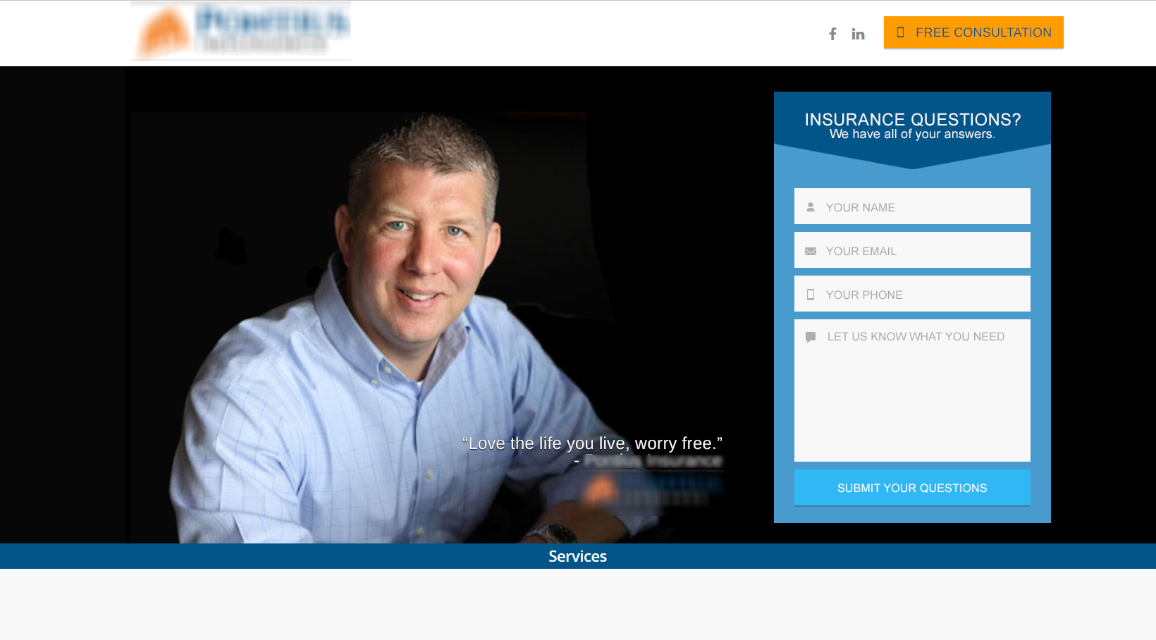 New Castle Insurance Company Example #3 - simple lead generation changes
